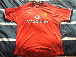 2000-2001 Manchester United Official Jersey