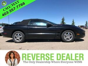 2002 Pontiac Firebird Convertible  Convertible, Ram Air Hood, So