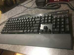 Corsair K70 RGB Red Switch and Corsair Sabre RGB Mouse
