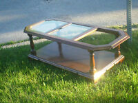 Roxton solid wood coffee table