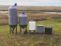 Bins for Horse Feed, Portable and Stationary Storage