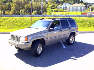 jeep grand cherokee v8 5.2 lift 6 pouces long arm rouchcountry