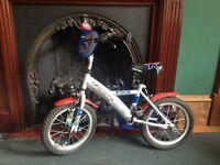 "Blue boy bicycle 14"""