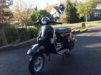 Great condition Vespa PX 125, 6 months manufacture warranty left.