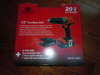 1/2in  cordless drill