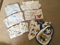 Baby boy clothing bundle Newborn and 0-3 months
