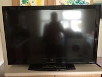 """42"""" BUSH LCD TV FREEVIEW HD GOOD CONDITION GREAT WORKING ORDER CAN DELIVER BARGAIN"""