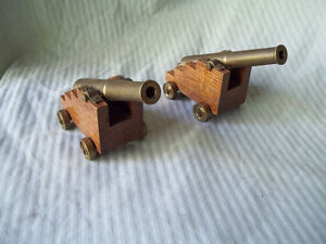 2 - Brass Cannons
