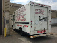 1997 Ford F-150 Delivery Ideal Food Truck Camion Old Fedex Truck