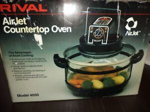 RIVAL Airjet Countertop Oven