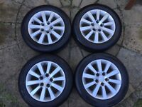 """Honda Civic Sport Alloy Wheels with Tyres 16"""""""