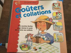 3 livres de recettes pour enfants