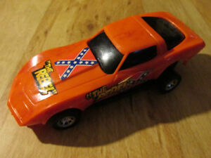 Rebel General Lee Buddy L Corvette Car Vintage 1980  Dukes Toy