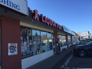 LIQUOR STORE AND RETAIL CONDO FOR SALE