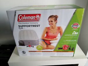 Brand new Coleman airbed for sale.