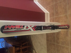 Used boys skis, boots and poles