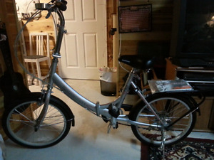 Ez-fold Mongoose bike