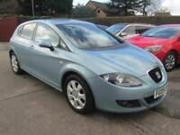 2009 09 Seat Leon 2.0 Tdi 140 Stylance 5Dr Blue