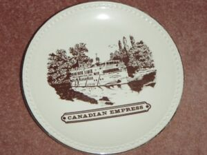 Canadian Empress 22 kt gold plated Plate