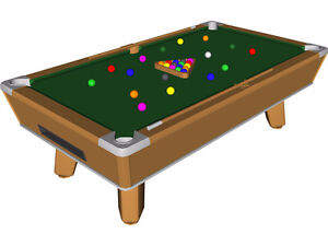 Looking for a Pool Table