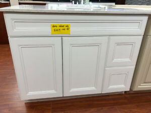 Over 60+ demo vanity in showroom on CLEARANCE!!!