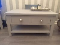 Annie Sloan 'Paris Grey' coffee table
