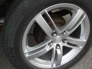 "17"" Alloy Rims and Tires 225x55x17"