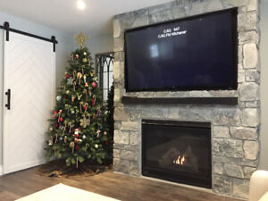 New Fireplace Builds/ Rebuild & Accent Walls - Masonry
