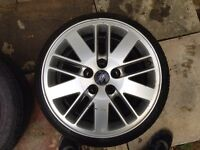R16 Ronal Alloy Wheels