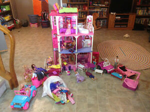 Barbie doll house plus Strathcona County Edmonton Area image 1