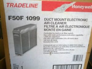 Two High Efficiency Honeywell Electronic Air Cleaners