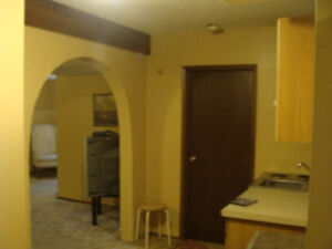 WALKOUT BASEMENT SUITE FOR RENT IN BEDDINGTON NW. – NON SMOKING
