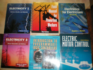 ELECTRICAL Books - NEW - at used prices - less than $15 a book