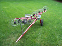 LAWN TRACTOR IMPLEMENT
