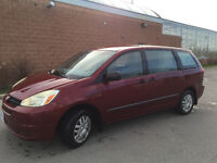 2004 Toyota Sienna CE Van for sale in good condition w/E-Test