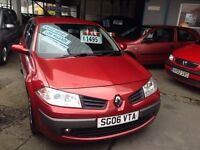 2006 RENAULT MEGAN ONLY 47000 MILES FULL SERVICE HISTORY £1495!!!