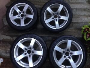 Rims and Tires for BMW (Winter)