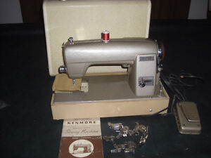 1950 Vintage Kenmore 120-49 Rotary Sewing Machine, with Case