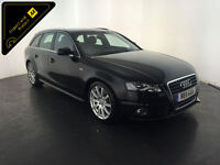 2011 AUDI A4 S LINE TDI DIESEL ESTATE 1 OWNER SERVICE HISTORY FINANCE PX WELCOME