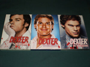 Dexter - Seasons 1-3, 6 DVDs