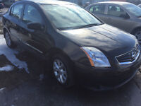 2011 Nissan Sentra Sert e-test  6900$ pls tax