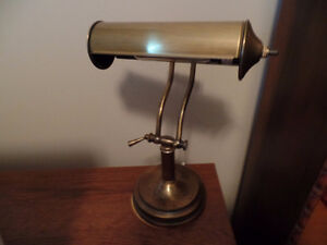 """Very Nice Antique DESK LAMP (13"""" Tall) (Mint Condition) ~ $50.00"""