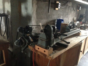 "driver wood lathe 9""swing 36""bed"