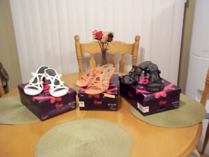 LADIES SANDALS AND BOOTS