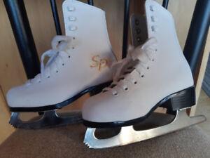 Little girl's size 11 CCM figure skates