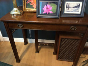 Sideboard & 4 dining chair set