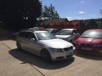2008 BMW 3 SERIES 2.0 320D EDITION M SPORT TOURING DIESEL*ESTATE*LEATHER*SATNAV*
