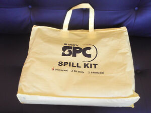 CAN-ROSS UNIVERSAL SPILL KITS - YELLOW NYLON BAG - NEW Kitchener / Waterloo Kitchener Area image 7