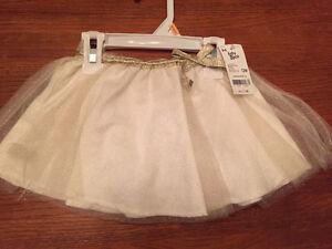 New! Baby b'gosh skirt size 12 months