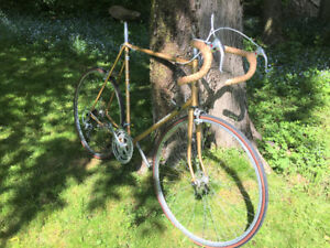"""1970s Raleigh Super Course (10-speed; 25.5"""" frame)"""